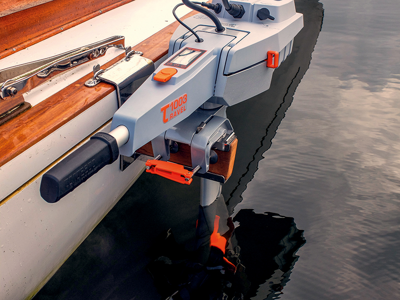 Seitenmotorhalterung für E-Motoren | Boat Solutions, Utting am Ammersee