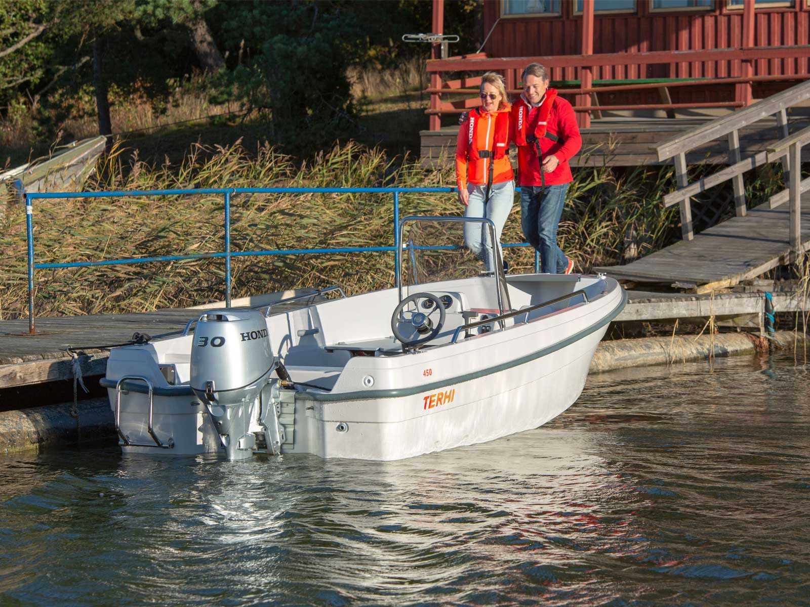 Terhi 450 C   Boat Solutions, Utting am Ammersee