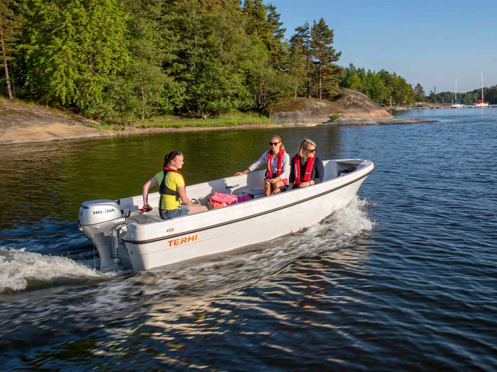 Terhi 450   Boat Solutions, Utting am Ammersee