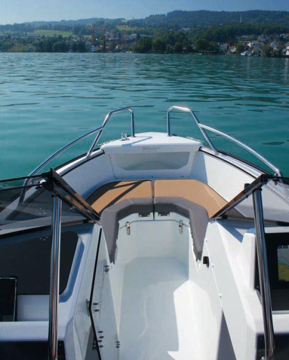 Das Silver Hawk BR, Foto: Thomas Hulliger | Boat Solutions