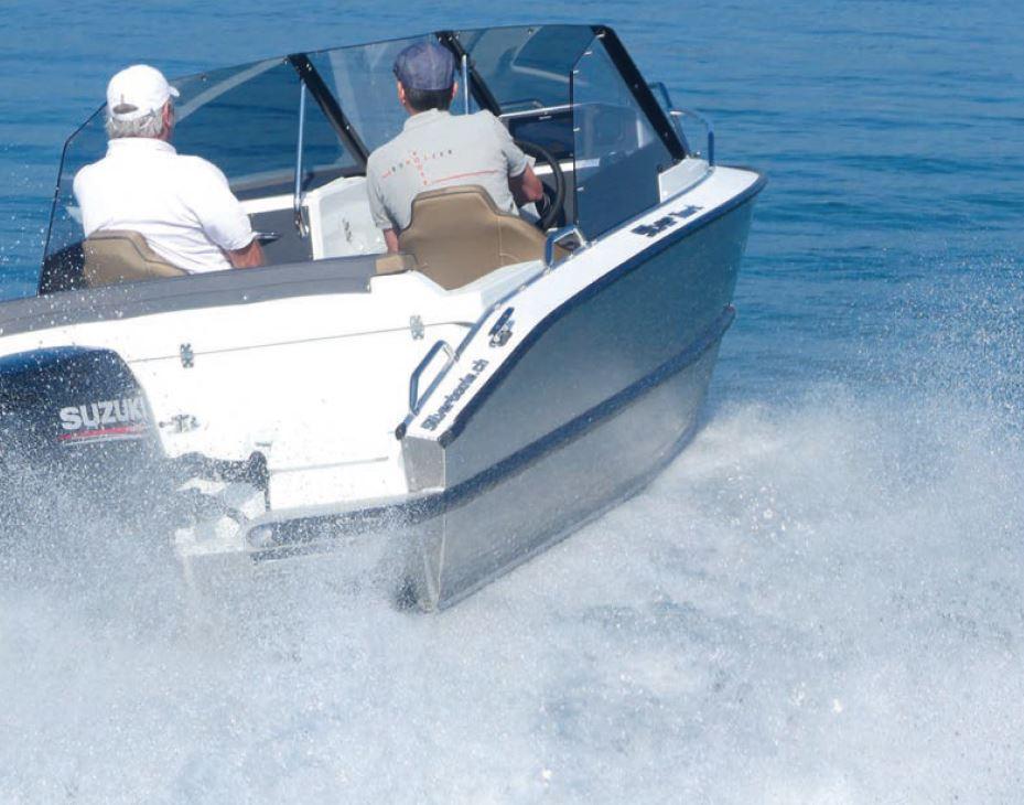Das Silver Hawk BR bei der Testfahrt, Foto: Thomas Hulliger | Boat Solutions