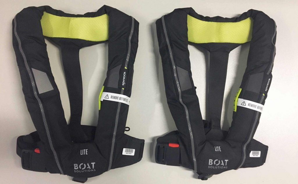 2 Spinlock-Automatik-Rettungswesten erhalten Sie bei einem Bootskauf auf der boot Düsseldorf 2020 gratis dazu | Climbers Paradise