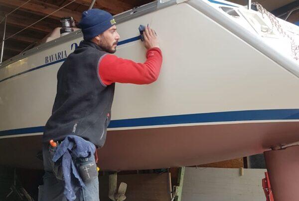 Das Boot gründlich polieren | Boat Solutions, Utting am Ammersee