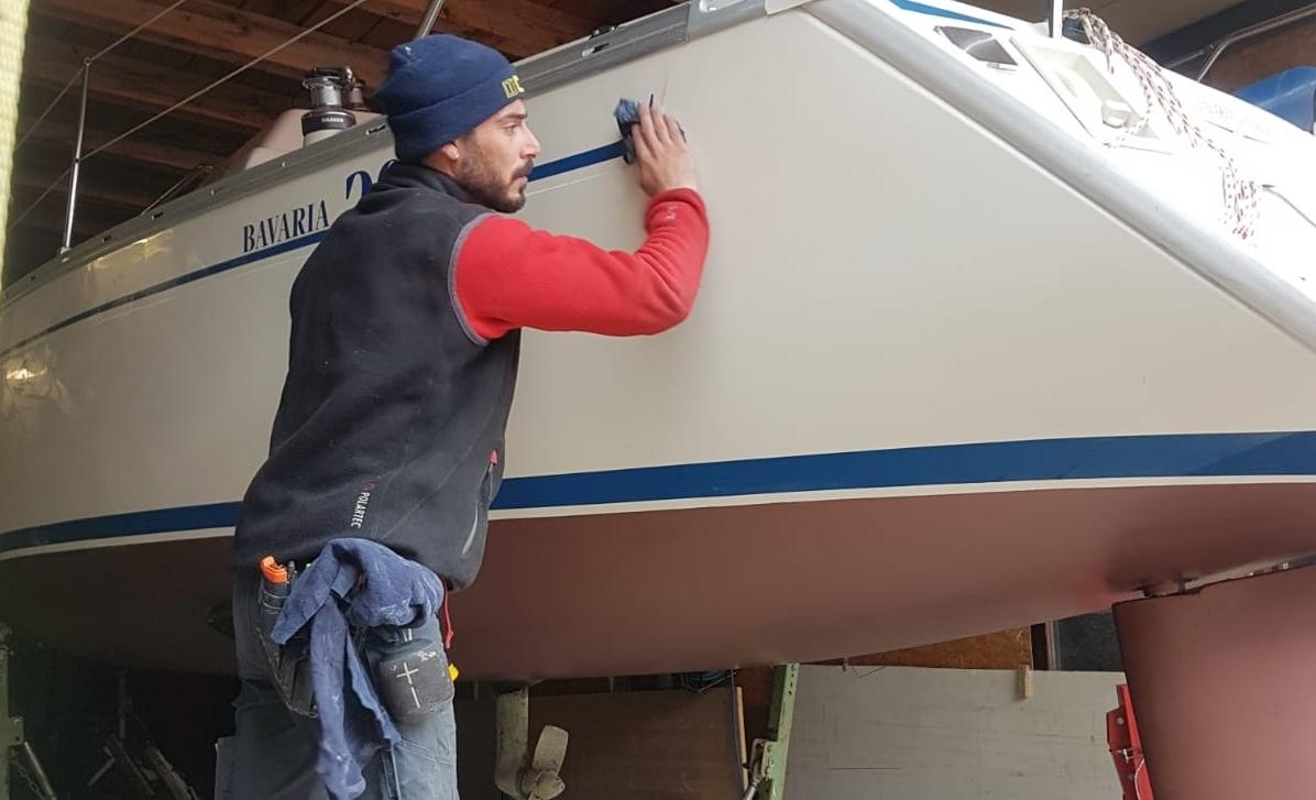 Boot polieren – aber richtig!