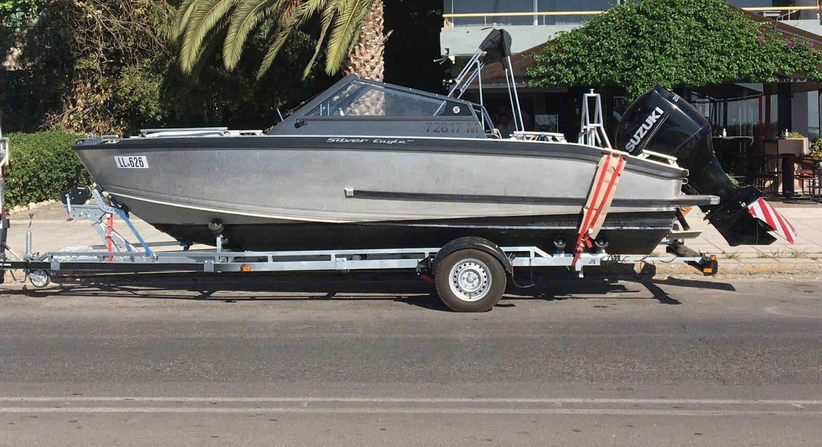 Das Boot richtig transportieren